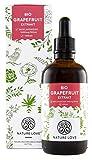 NATURE LOVE Bio Grapefruitkernextrakt. 1200mg Bioflavonoide / 100ml. Laborgeprüft und Bio zertifiziert. Grapefruit Extrakt aus Kern und Schale. Hochdosiert, vegan und hergestellt in Deutschland
