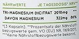 Premium Magnesiumcitrat 2250mg, davon 360mg elementares Magnesium je Tagesdosis. 180 Kapseln. Hochdosiert, laborgeprüft, ohne Zusätze, vegan & hergestellt in Deutschland